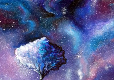 The tree of the Universe, 70x50 cm, oil on canvas